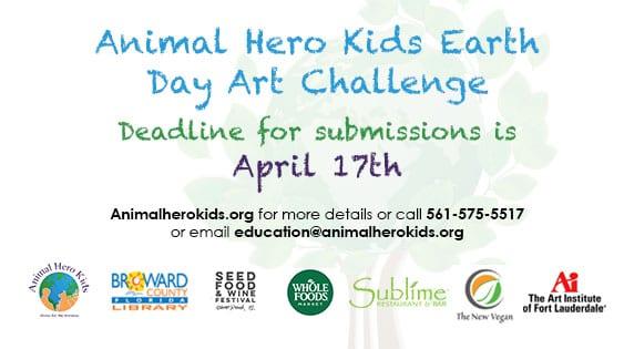 Animal Hero Kids Earth Day Art Challenge