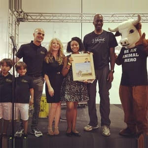 Paul McCartney Young Veg Advocate Honored by John Salley and Marco Borges