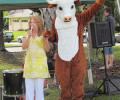 Animal Hero Kids, founder, Susan Hargreaves and Ronnie V Cow