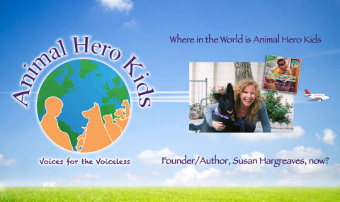 Where in the World is Animal Hero Kids Author/Founder Now?