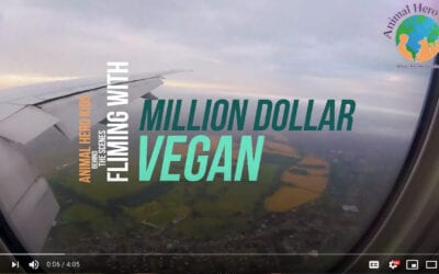 Animal Hero Kids Join Million Dollar Vegan Campaign to Offer President Trump a Deal!